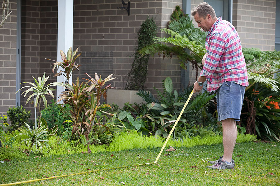 Measuring how much turf you need