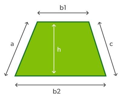 trapezoidal space