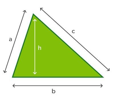 triangular space