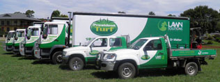 Turf delivery Trucks